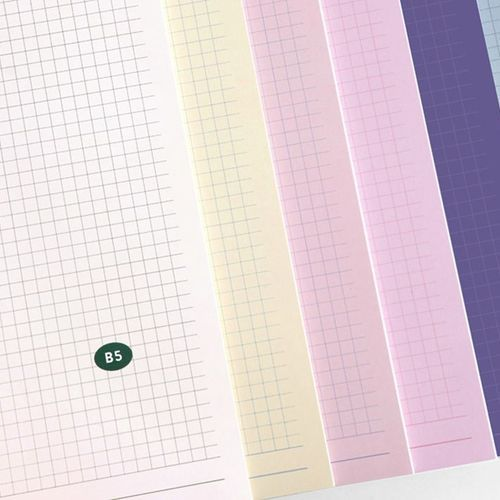 Pieces of Moment Grid Notebook