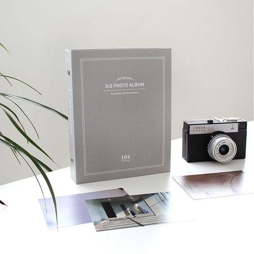 My Record 3x5 Photo Album