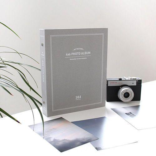 My Record 4x6 Photo Album