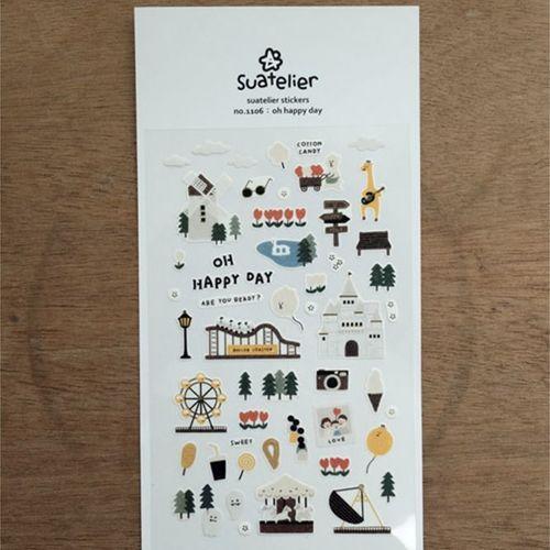 Oh Happy Day Deco Sticker