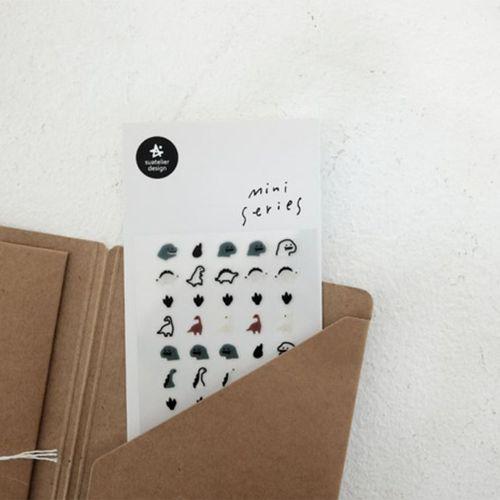 Mini Dino Deco Sticker v1