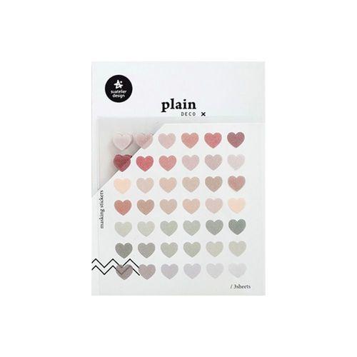 Plain Deco Sticker v52
