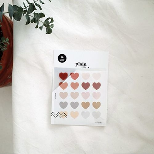 Plain Deco Sticker v53