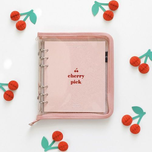 Cherry Pick 6 Ring A6 Wide Zipper Planner