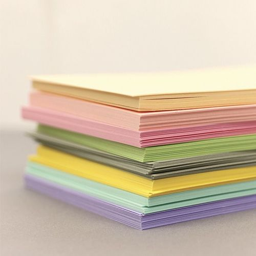 6 Ring A5 Colored Plain Note Refill