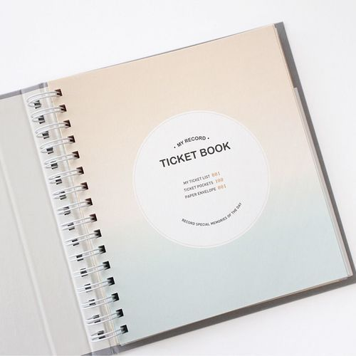 My Record Ticket Book