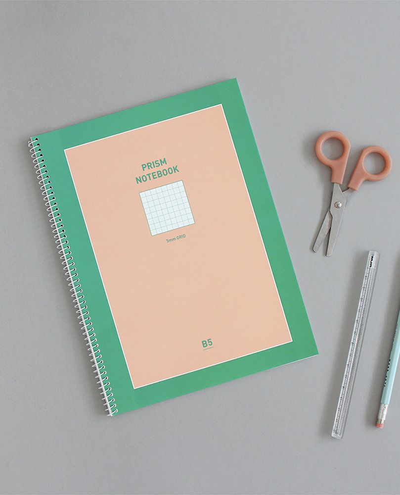 Prism B5 Spiral Notebook