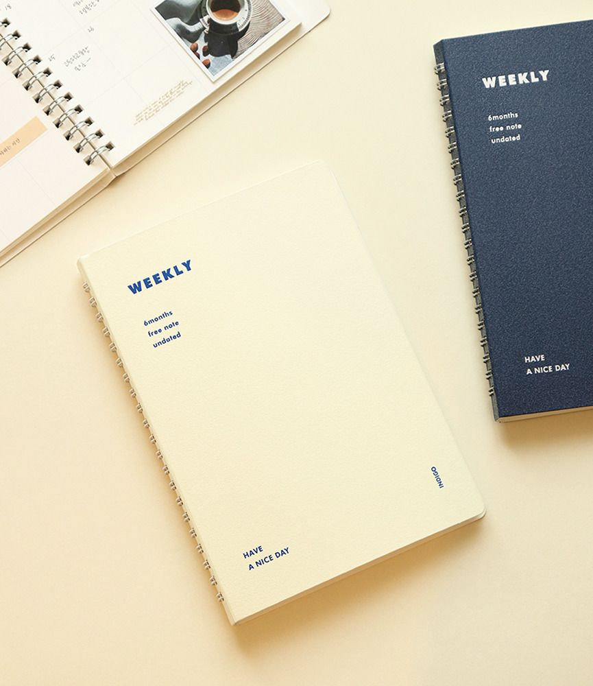Semi Year Spiral Weekly Planner