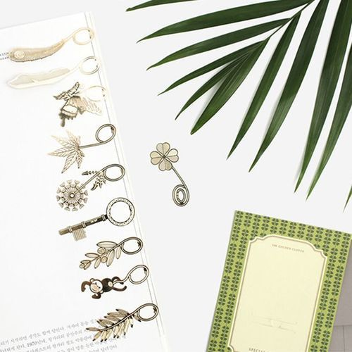 Gold Plated Bookmark Card