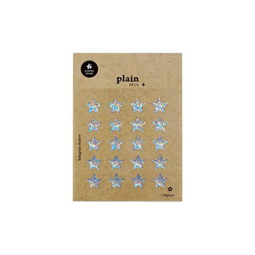 Plain Deco Sticker v55