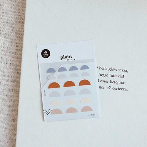 Plain Deco Sticker v57