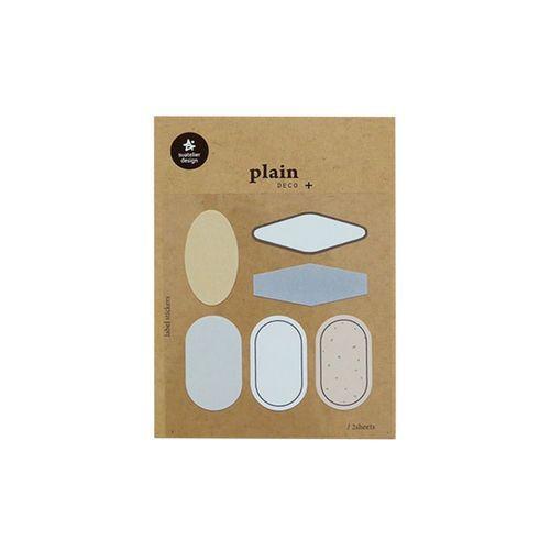 Plain Deco Sticker v60