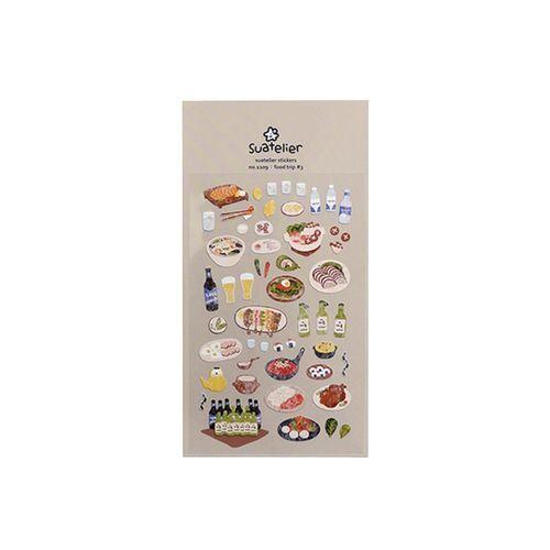 Food Trip #3 Deco Sticker