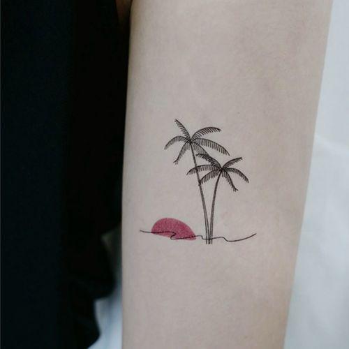 Somewhere Tattoo Sticker