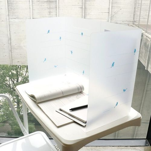 Foldable Desk Partition