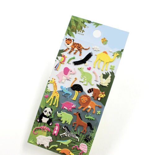 Wild Animal Deco Sticker