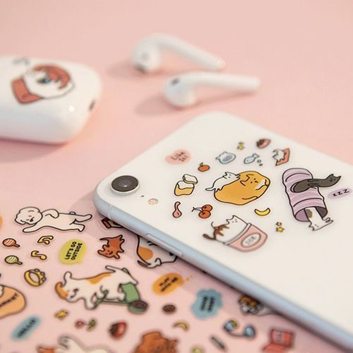 Small Friends Removable Sticker