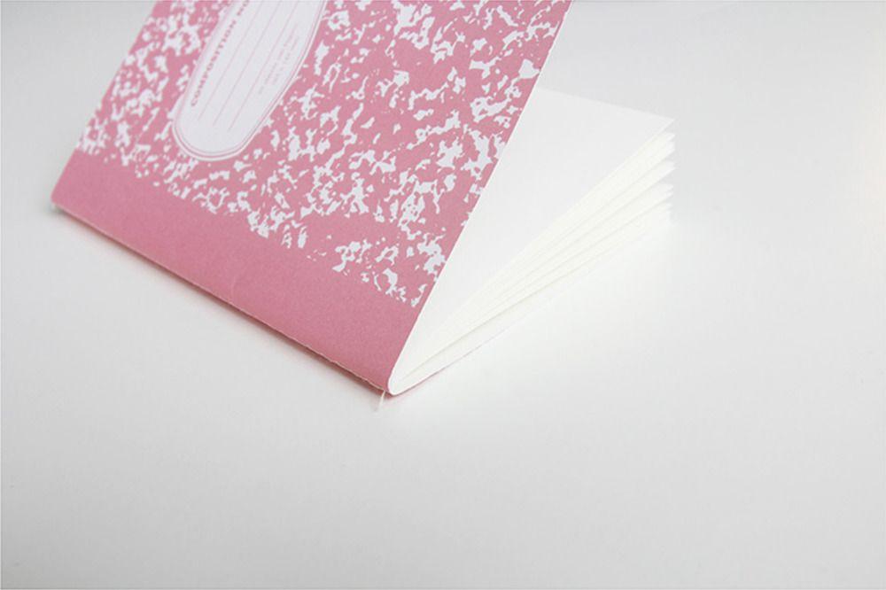 Composition A6 Plain Notebook