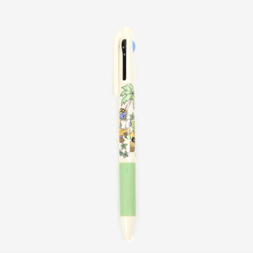 Jelly Bear 3 Color Pen
