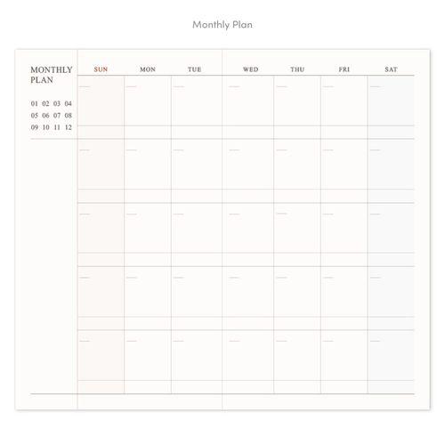 Official Slim Weekly Planner v4
