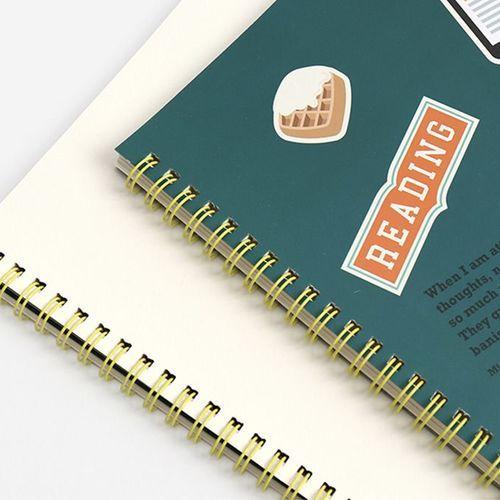 Reading Pet Plain Notebook