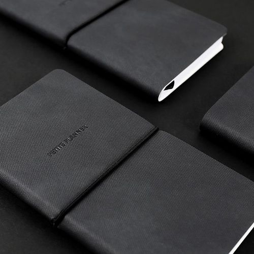 Petite Leather Weekly Planner v2