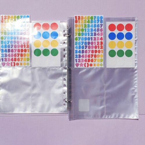 Extra Large 3 Ring A4 Double-sided Pocket Refill