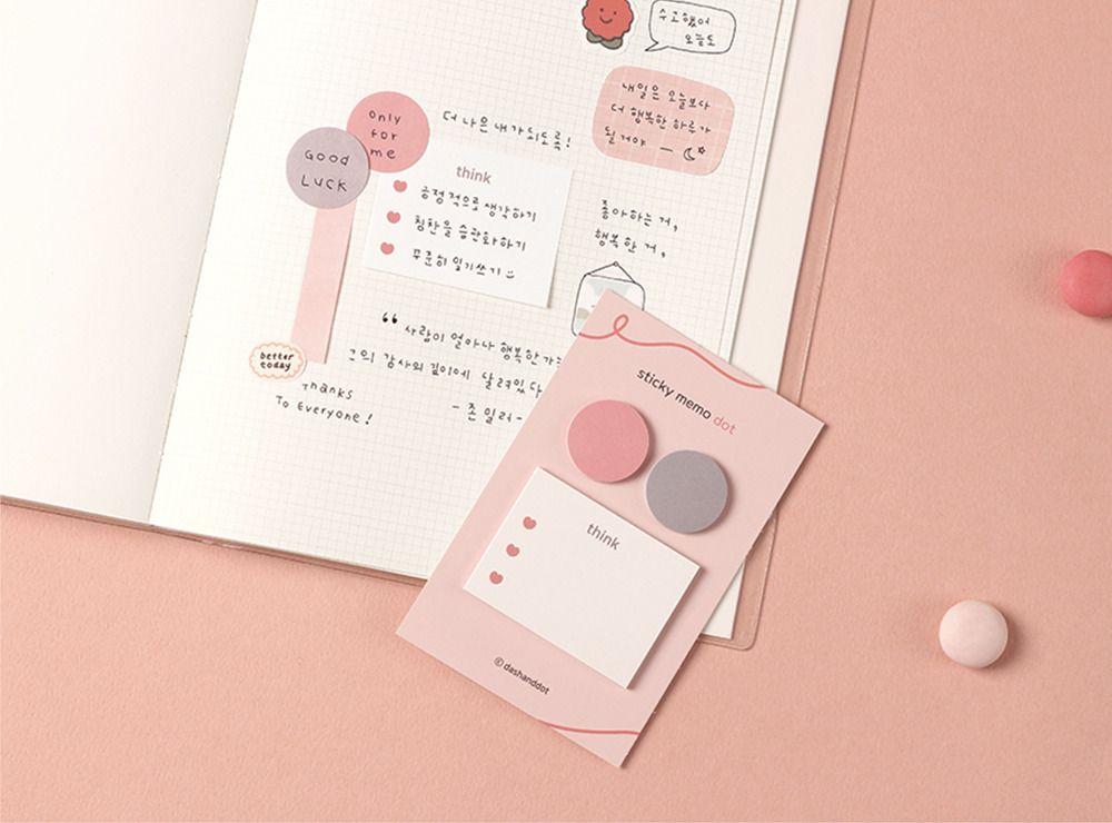 Pastel Dot Sticky Note