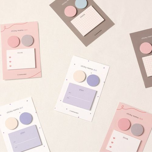 Pastel Dot Sticky Note