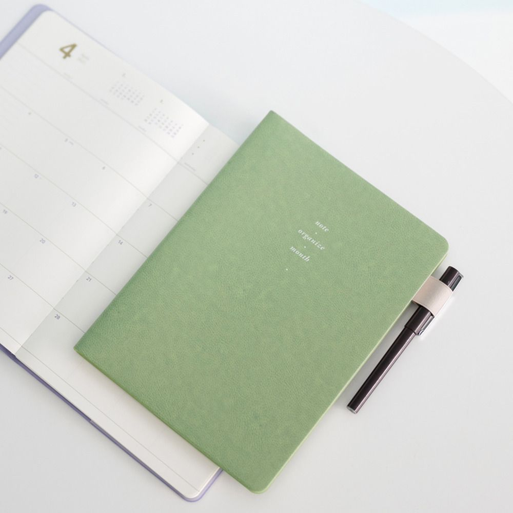 2021 B5 Slim & Wide Monthly Planner