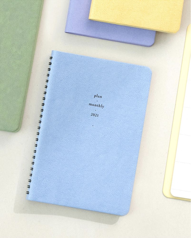 2021 Plan & Monthly Spiral Journal