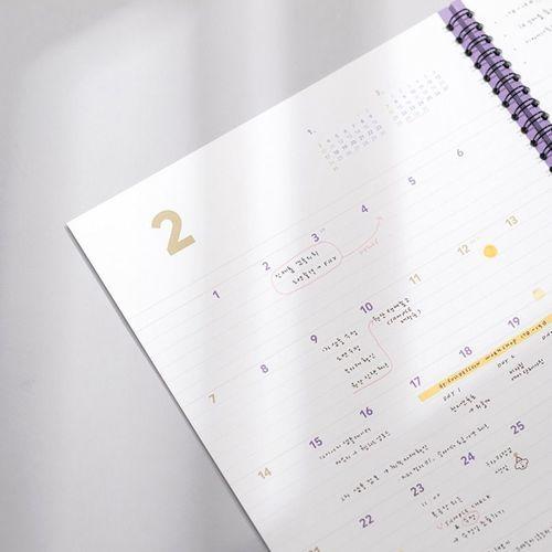 2021 Large Spiral Basic Planner
