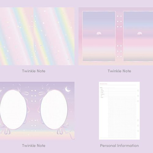 Twinkle 6 Ring A6 Planner v2