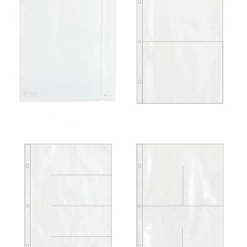 Extra Large 3 Ring A4 Binder & Pocket Set