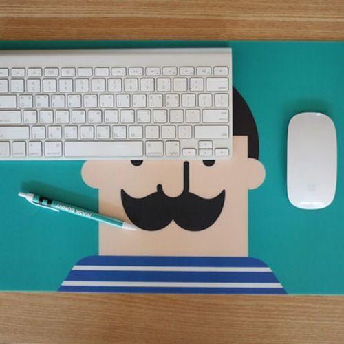 Hello Desk Mat
