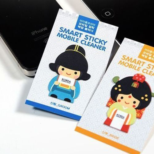 Korean Traditional Clothing Cellphone Screen Cleaner