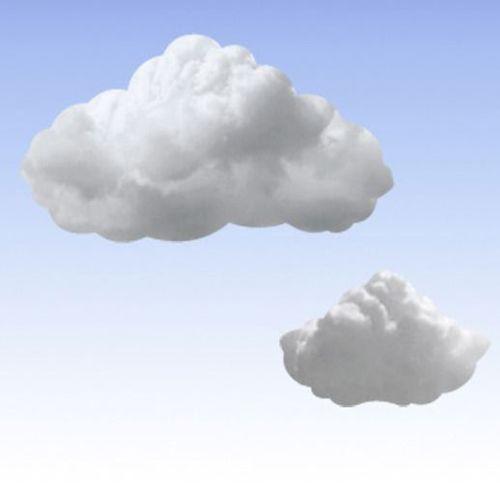 Cloud Sticky Note Set