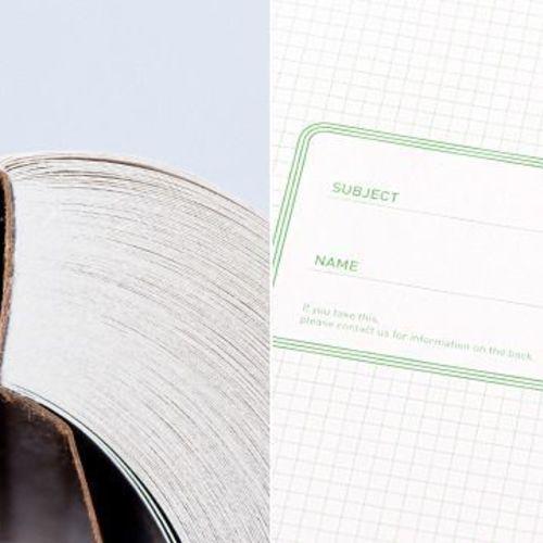 I'm Green Light Lined Notebook
