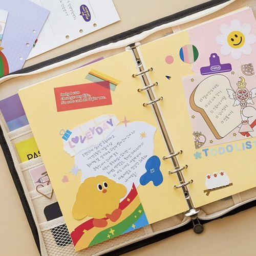 Canvas Today 6 Ring A5 Binder