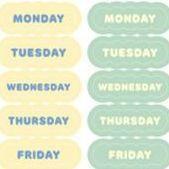 Colorful Planner Deco Sticker