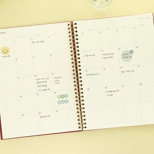 Paperian Classic B5 Weekly Planner