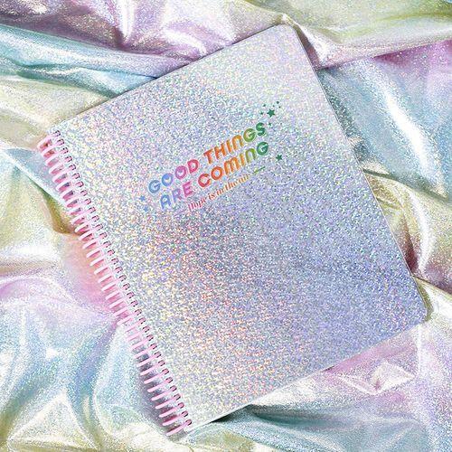 Hologram Spiral Notebook