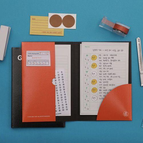 Good Habit Tracking Memo Pad