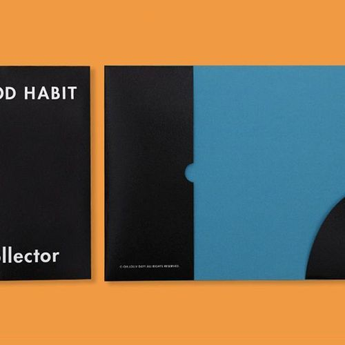 Small Good Habit Collector File Holder