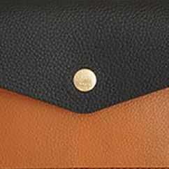 Edge Vegan Leather Slim Pouch