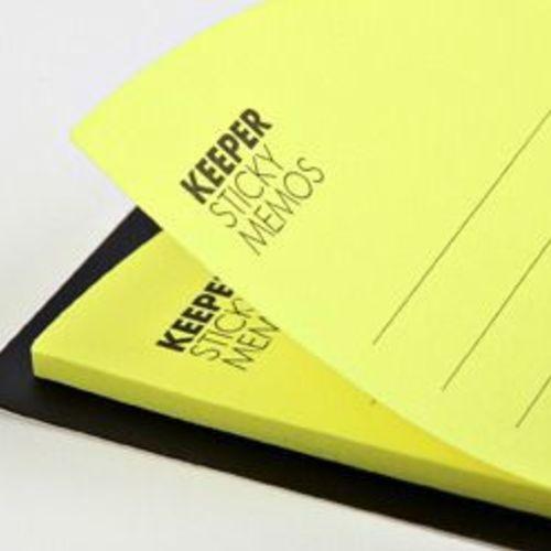 Yellow Corner Pocket Sticky Note