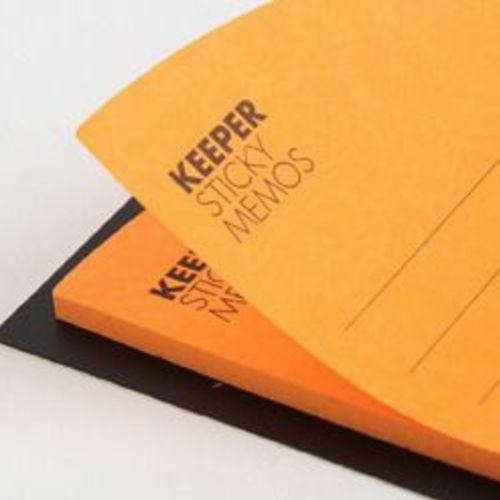 Orange Corner Pocket Sticky Note