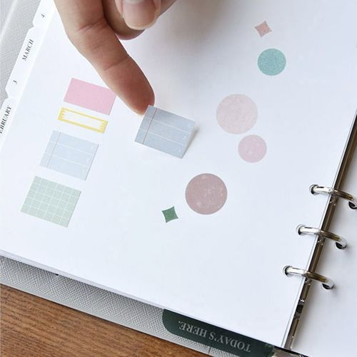 2021 Gentle Days 6 Ring A5 Planner