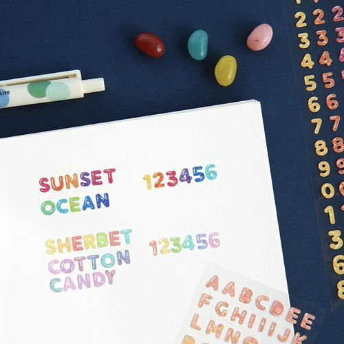 Jelly Gradient Deco Sticker