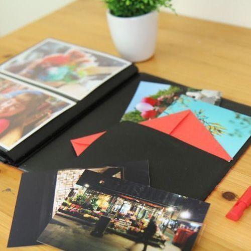 Large Leaf 4x6 Album